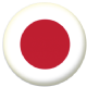 Japan Country Flag 58mm Mirror Keyring